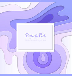 Purple abstract layout- template vector