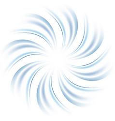 smooth twist light lines vector image