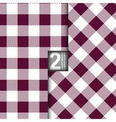 Table Cloth Italian Purple Seamless Pattern Set of vector image