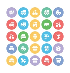 Transport Bold Icons 1 vector image