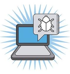 Virus computer vector