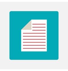 documents icon vector image