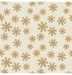 Flower pastel brown seamless pattern vector