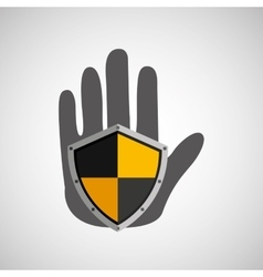 hand holding icon vector image