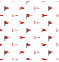 Meteorology windsock pattern seamless vector