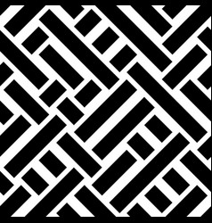 seamless pattern with oblique black bands vector image
