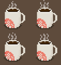 Mug Spritesheet vector image vector image