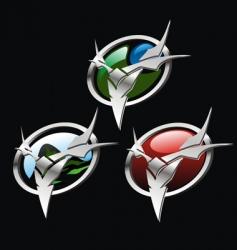 adventure symbol vector image vector image