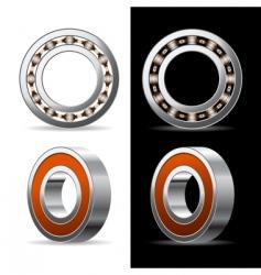ball bearing vector image vector image