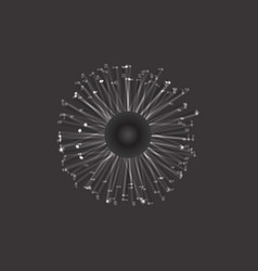 digital eye vector image