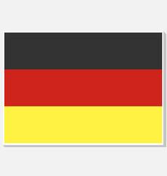 national germany flag vector image