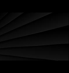 Abstract black metallic plate pattern design vector