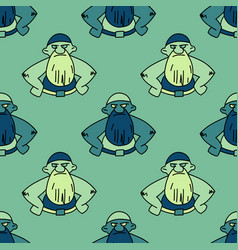 Angry man seamless pattern vector