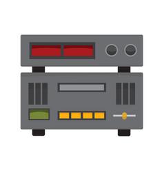 audio studio controller stereo graphic vector image