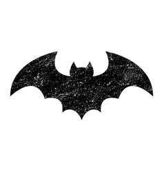 Bat icon vector