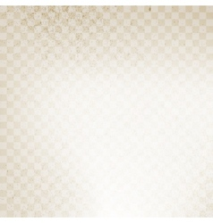Checkered Grunge Background vector image