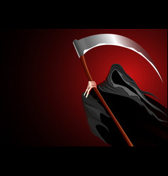 graphic of a grim reaper vector image