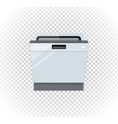 Sale of Household Appliances Dishwasher Machine vector