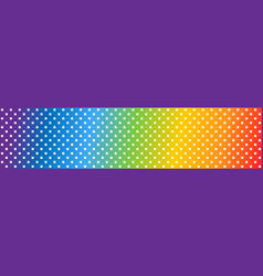 square rainbow background square pattern in vector image
