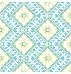 Ukrainian national ornaments vector image