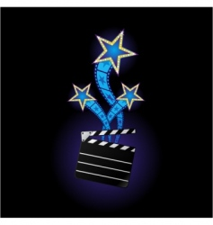 stars from cinema vector image vector image