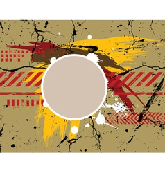 army grunge background vector image