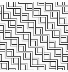 abstract seamless geometric pattern of zigzag vector image