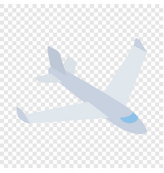 big plane isometric icon vector image