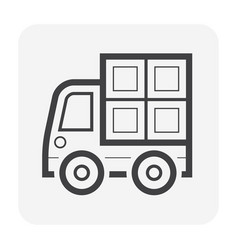 cargo container box vector image