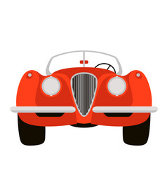 classic vintage car vector image