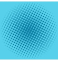 Dots on blue background pop art background vector