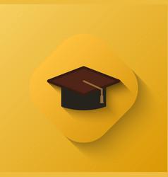 judge hat icon vector image