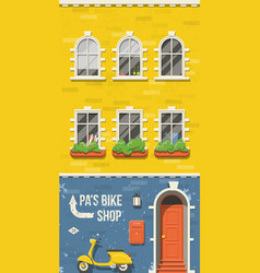 Old european house vector