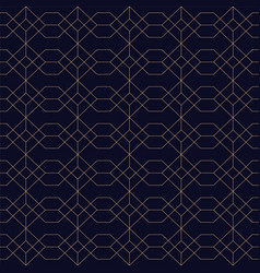 Ornamental seamless blue background grid vector