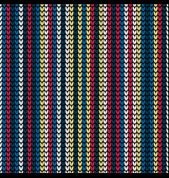 seamless color vertical stripes background vector image