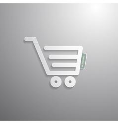 Shopping Cart Basket Symbol vector image