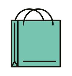 shopping paper bag commerce celebration party vector image