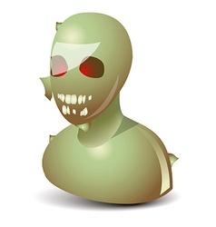 Zombie icon vector image