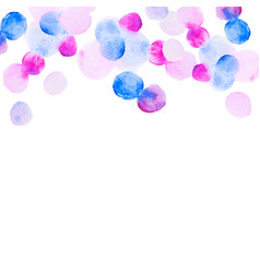 abstract colorfull handdrawn watercolor background vector image vector image