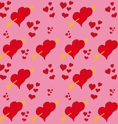Hearts and Arrows vector image