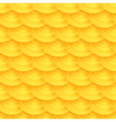 Seamless pattern of honeycombs vector image