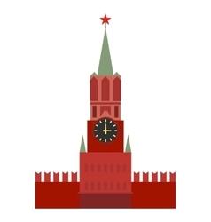 Spasskaya tower icon vector image