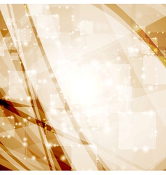 Abstract tech shiny background vector image