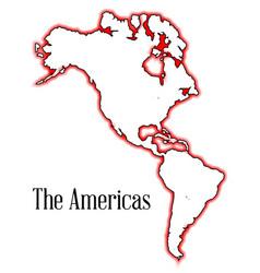 Americas vector
