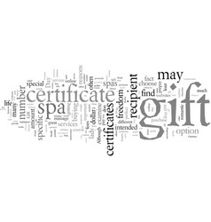 Day spa gift certificates reasons why you should vector