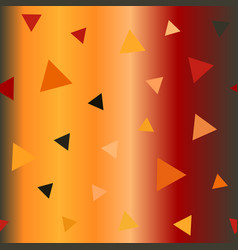 Glossy triangle pattern seamless vector