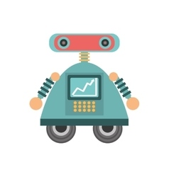 Robot android automation icon vector