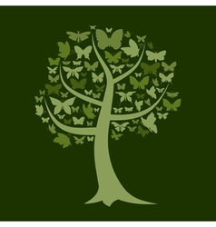 Tree the butterfly vector