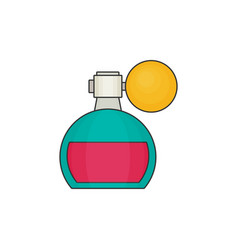 perfume flat icon vector image vector image