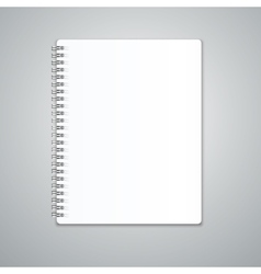 Realistic Note Template Blank vector image vector image